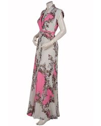 Paul & Joe | Pink Flaubert Floral-print Silk-crepe Maxi Dress | Lyst