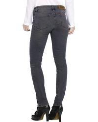 Acne Studios | Gray Kex Thunder Skinny Jeans | Lyst