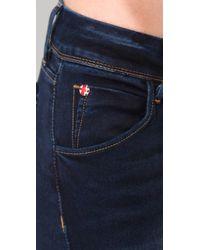 Hudson Jeans - Blue Collin Flap Pocket Skinny Jeans - Lyst