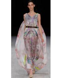 Matthew Williamson - Multicolor Parachute Column Dress - Lyst
