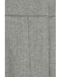 Narciso Rodriguez | Gray Tailored Wool-blend Flannel Pants | Lyst