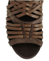 Rag & Bone | Brown Berkane Wedge | Lyst