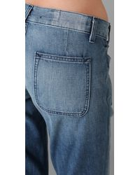 Textile Elizabeth and James - Blue Collins Slouchy Jeans - Lyst