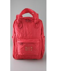 Marc By Marc Jacobs - Red Pretty Nylon Backpack - Lyst