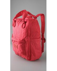 Marc By Marc Jacobs | Red Pretty Nylon Backpack | Lyst