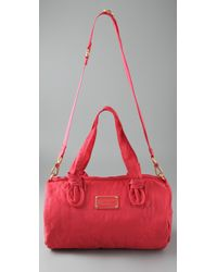 Marc By Marc Jacobs - Red Pretty Nylon Max Duffel Bag - Lyst