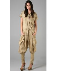 Matthew Williamson | Natural Utility Flight Suit | Lyst