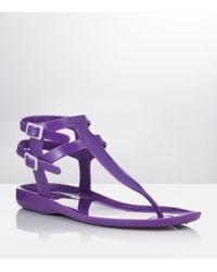 Carvela Kurt Geiger | Kink Jelly Sandals Purple | Lyst