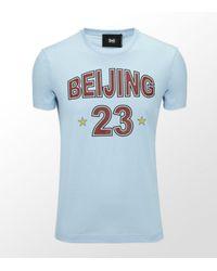 Dolce & Gabbana | Blue Beijing Cotton T-shirt for Men | Lyst