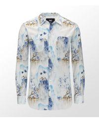 Dolce & Gabbana   White Brad Hawaiian Shirt for Men   Lyst