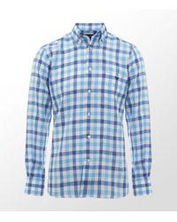 Duchamp | Multicolor Check Linen Shirt for Men | Lyst
