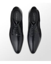 Kurt Geiger | Black Buckland Patent Leather Shoe for Men | Lyst