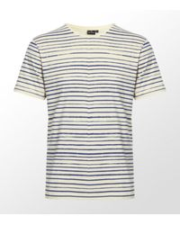 Paul Smith | White Painted Stripe T-shirt for Men | Lyst