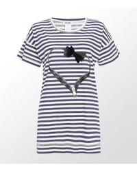 Sonia by Sonia Rykiel | Gray Running Eiffel Tower T-shirt | Lyst