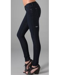 Ksubi | Blue Skinny Pins Legging | Lyst