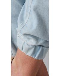 James Jeans - Blue Tailored Denim Sweatpants - Lyst