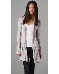 Jarbo | White Wrap Cardigan | Lyst