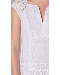 Nanette Lepore   White Fringe Dress   Lyst