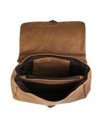 Jas MB - Brown Large Peggy Lady Shoulder Bag - Lyst