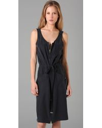Marc By Marc Jacobs | Blue Sondra Silk Dress | Lyst
