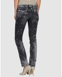 CoSTUME NATIONAL   Black Denim Pants   Lyst