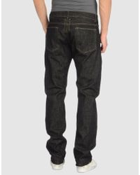 DRKSHDW by Rick Owens | Black Detroit Cut Denim Pants for Men | Lyst