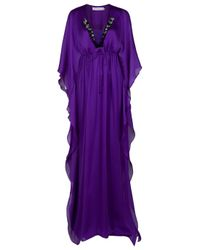 Ghadah | Purple Maxi Kaftan | Lyst