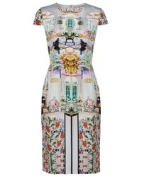 Mary Katrantzou - Multicolor Serendipity Dress - Lyst