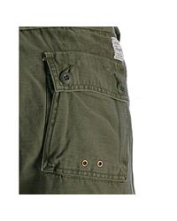 PRPS - Khaki Green Cotton Milt Cargo Pants for Men - Lyst