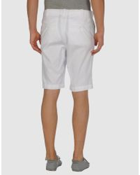 Hartford - White Drawstring Short for Men - Lyst