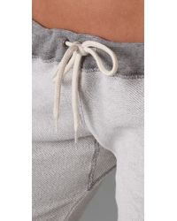 Monrow - White Inside Out Skinny Sweats - Lyst