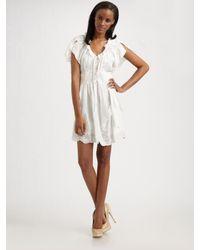 Nanette Lepore | White Mystic Dress | Lyst