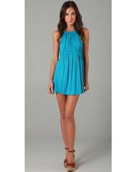 T-bags | Blue Strappy Mini Dress | Lyst