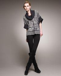 Jean Paul Gaultier - Black Jersey Stirrup Pants - Lyst