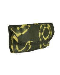 Sammy Ethiopia | Green Chu Chu Tie Dye Leather Clutch Bag | Lyst