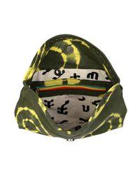 Sammy Ethiopia - Green Chu Chu Tie Dye Leather Clutch Bag - Lyst
