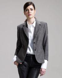 The Row | Gray Schoolboy Jacket | Lyst