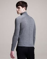 Givenchy | Gray Turtleneck Sweater for Men | Lyst