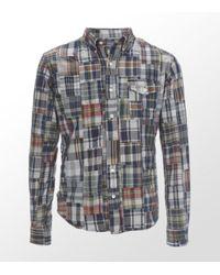 Ralph Lauren   White Patchwork Shirt for Men   Lyst