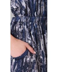 Theyskens' Theory - Blue Dewi Dress - Lyst