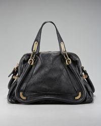 Chloé | Brown Paraty Shopper Bag | Lyst