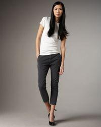 Current/Elliott | Gray The Smart Trouser | Lyst