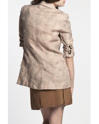 Elizabeth and James | Natural Distressed James Blazer | Lyst
