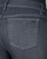 Joe's Jeans - Blue High-waist Genevieve Denim Trousers - Lyst