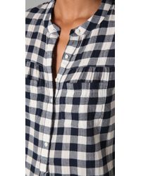 Madewell - Black Checked Boiler Shirt - Lyst
