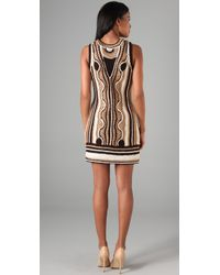 MILLY - Natural Crochet Tangier Dress - Lyst