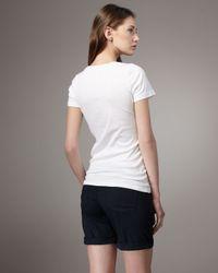 PAIGE | Blue Kenya Longer Shorts | Lyst