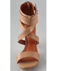 Pour La Victoire - Brown Macaria High Heel Sandals - Lyst