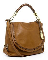 Michael Kors | Brown Skorpios Leather Messenger Bag | Lyst