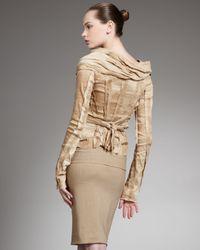 Donna Karan - White Tube Skirt - Lyst